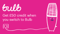 Save £50 when you join Bulb
